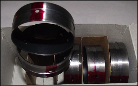 Teflon Coated Bearing Set